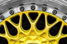 Closeup Shot Of The Yellow Met...
