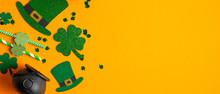 St Patricks Day Frame Of Irish...