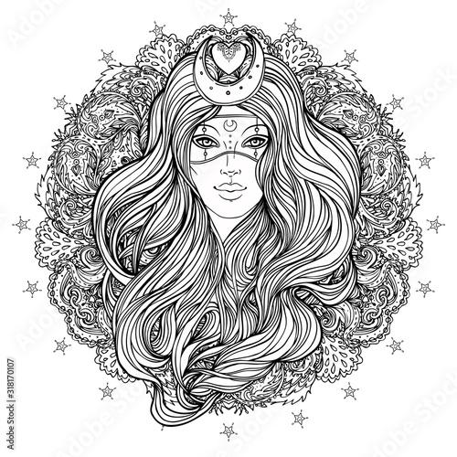 Cuadros en Lienzo Moon princess