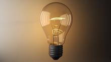 Close-Up Of Illuminated Light ...