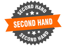 Second Hand Sign. Second Hand ...