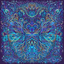 Hypnotic Shamanic Acid Pattern...