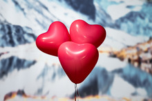 Valentines Day.  Three Reds Ba...