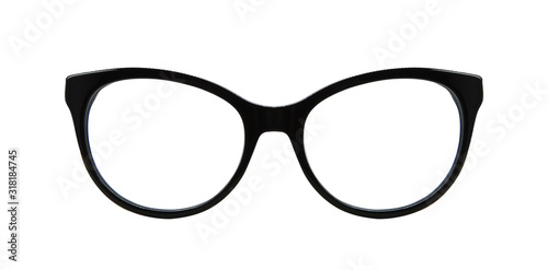 reading glasses in black color. For both women and men. Canvas Print