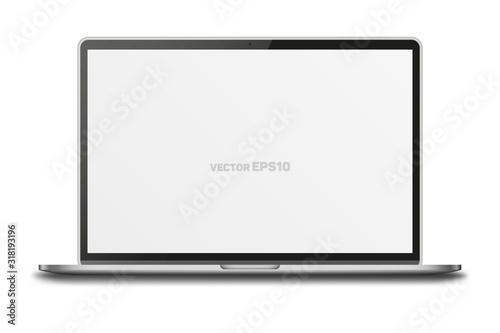 Notebook isolated on white background. #318193196
