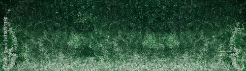 old-shabby-textured-mossy-concrete-wall-rough-green-cement-long-texture-dark-wide-background