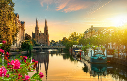 Fotografia Strasbourg at sunrise