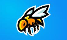 Bee Esports Mascot Logo Design-01