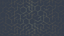 Abstract Geometric Lines. Conn...