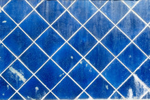The Old Blue Wall Tiles For Ba...