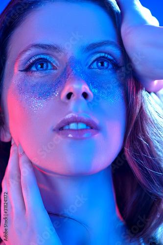 Fototapety, obrazy: dreamy shiny girl