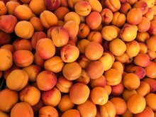 Full Frame Shot Of Peaches For Sale At Market Stall