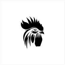 Chicken Head Logo Designs, Rooster Logo Designs Template.