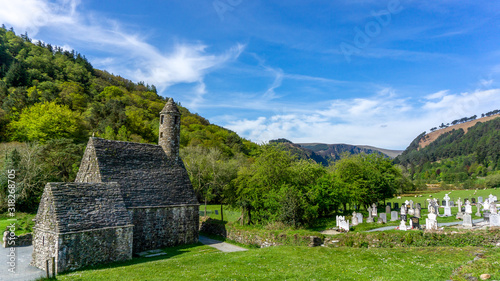 Obraz Glendalough, Irlanda - fototapety do salonu