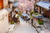 Fototapeta Na drzwi - Kyoto, Japan Old Town in Spring