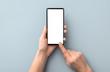 canvas print picture - Phone mockup concept.