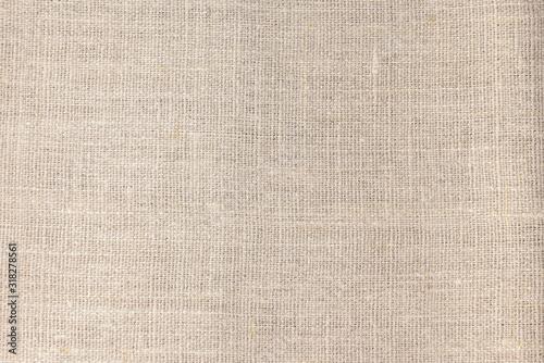 Beige linen fabric cotton for wallpaper design. Fototapet