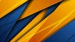 Blue and orange glossy corporate abstract motion background. Seamless looping. Video animation Ultra HD 4K 3840x2160