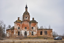 Abandoned Savior Church In Sal...