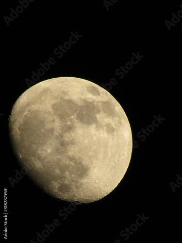 Canvastavla luna