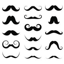 Mustache / Moustache Silhouett...