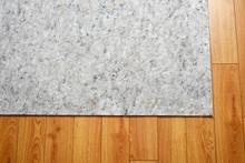 Area Rug Felt Under Pad On Hardwood Floor