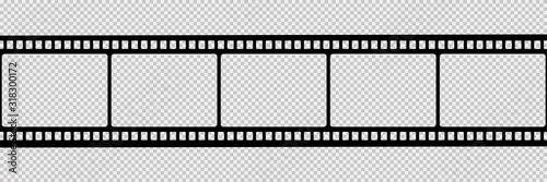 Film strip isolated vector icon Slika na platnu