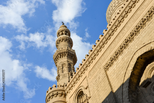 Photo The Mosque of Ahmad Ibn Tulun is Cairo's oldest mosque located in the Islamic area, Egypt