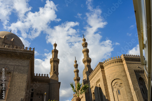 The Mosque of Ahmad Ibn Tulun is Cairo's oldest mosque located in the Islamic area, Egypt Wallpaper Mural
