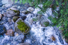 Creek Whitewater Background 7
