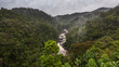 canvas print picture - Rain forest landscape, Ranomafana, Madagascar