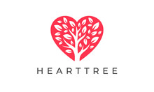 Heart Tree Logo - Love Charity...