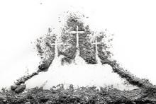 Three Cross On Golgota Hill Dr...