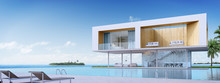3D Rendering : Luxury Beach Ho...