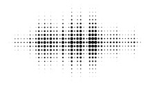 Halftone Dotted Audio Equalize...