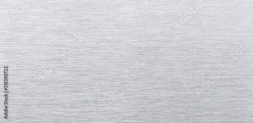 aluminum background. Stainless steel texture close up Wallpaper Mural