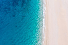 Top-down Aerial View Of A Whit...