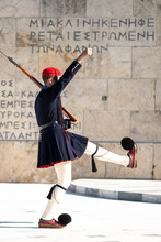 Presidential Guard On The Tomb Of The Unknown Soldier.