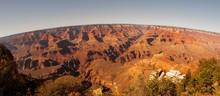 Grand Canyon On Fish Eye