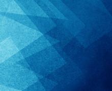 Abstract Modern Blue Backgroun...