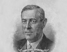 Woodrow Wilson President Portr...