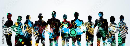 クリエイター グループ 多様性 Canvas Print