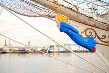A Figurehead Of A Classic Sail...