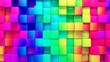 Full Frame Shot Of Colorful Blocks