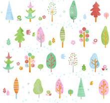 木のパターン春1