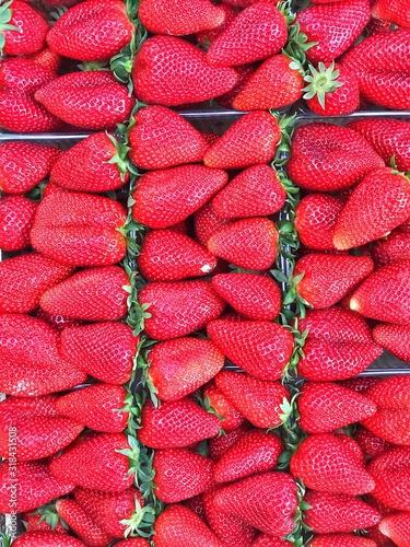 Obraz Full Frame Shot Of Strawberries - fototapety do salonu