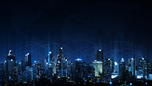 Technology Future Smart City A...