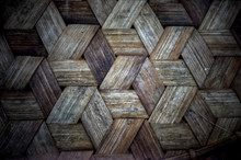 Woven Bamboo Texture For Patte...