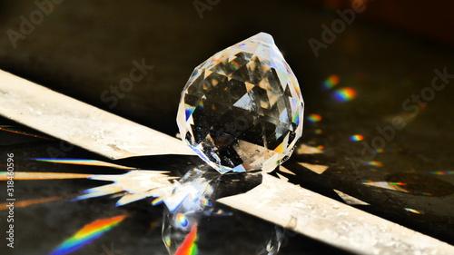 Obraz Close-Up Of Crystal On Floor - fototapety do salonu