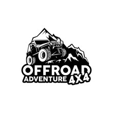 Offroad Adventure 4x4 Logo Vector